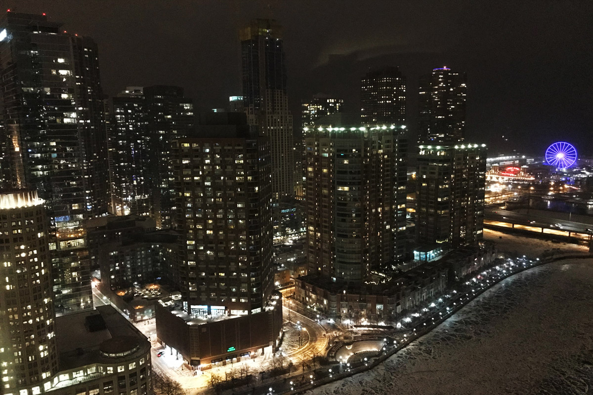 Lighting the City of Chicago